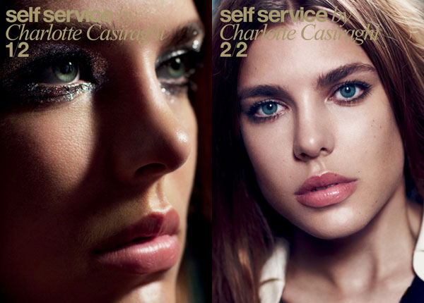 self service magazine charlotte casiraghi