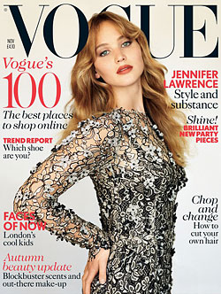 Jennifer Lawrence Vogue UK
