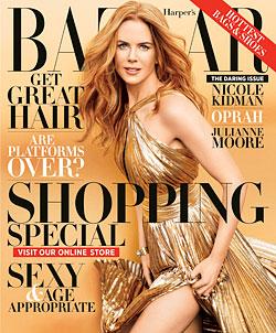 Nicole Kidman Harpers Bazaar