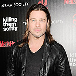 Brad Pitt Talks Chanel Spoofs and His Wedding at 'Killing Them Softly' Premiere