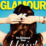 Zooey Deschanel Fronts Glamour's First-Ever February Hair-Themed Issue