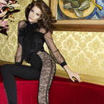A 44-year-old Stephanie Seymour Models Jason Wu
