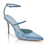 Denim Desserts � The Rihanna x Manolo Blahnik Spring Shoe Collection