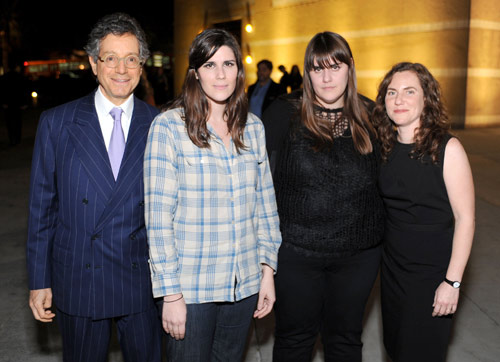 Jeffrey Deitch Laura Mulleavy Kate Mulleavy Rebecca Morse MOCA Exhibition Preview Of 'Rodarte: States Of Matter'