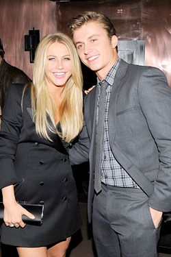 Kenny Wormald Julianne Hough Footloose screening